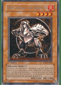 Horus the Black Flame Dragon LV4 - SOD-EN006 - Rare (español)