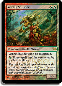Vexing Shusher (Shadowmoor Launch) - SDM - R