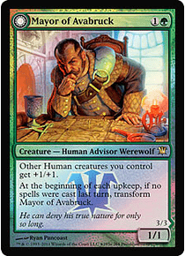 Mayor of Avabruck | Howlpack Alpha (Innistrad Prerelease) (Jugados)