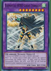 Elemental Hero Great Tornado - SDHS-EN045 - Common