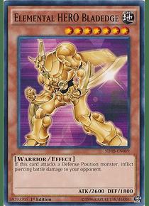 Elemental Hero Bladedge - SDHS-EN009 - Common