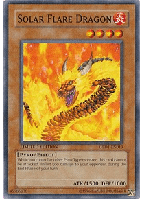 Solar Flare Dragon - GLD1-EN019 - Common