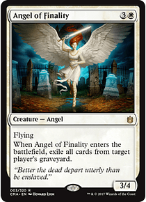 Angel of Finality - CMA - R