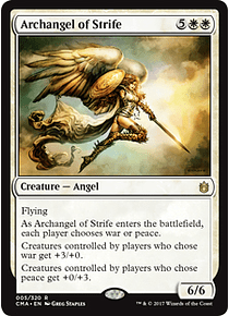 Archangel of Strife - CMA - R