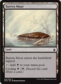 Barren Moor - CMA - C