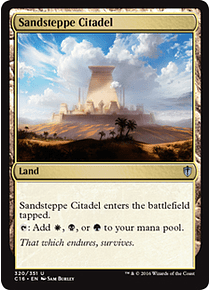 Sandsteppe Citadel - C16 - U