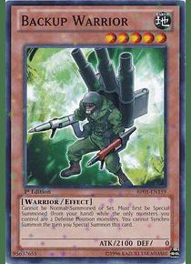 Backup Warrior - BP01-EN159 - Starfoil Rare