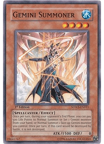 Gemini Summoner - SDWS-EN011 - Common
