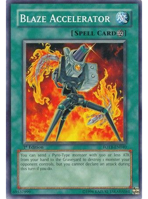 Blaze Accelerator - FOTB-EN040 - Common
