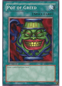 Pot of Greed - SD2-EN017 - Common