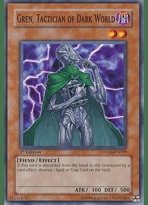 Gren, Tactician of Dark World - STON-EN019 - Common