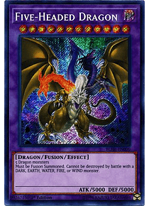 Five-Headed Dragon - BLHR-EN000 - Secret Rare