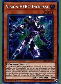 Vision HERO Increase - BLHR-EN007 - Secret Rare