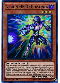 Vision HERO Poisoner - BLHR-EN008 - Ultra Rare