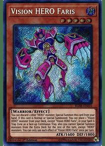 Vision HERO Faris - BLHR-EN010 - Secret Rare