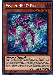 Vision HERO Faris - BLHR-EN010 - Secret Rare