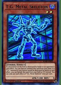 T.G. Metal Skeleton - BLHR-EN025 - Ultra Rare