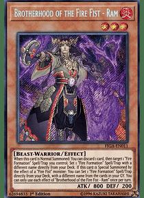 Brotherhood of the Fire Fist - Ram - FIGA-EN011 - Secret Rare