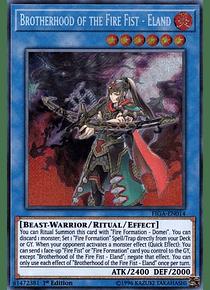 Brotherhood of the Fire Fist - Eland - FIGA-EN014 - Secret Rare