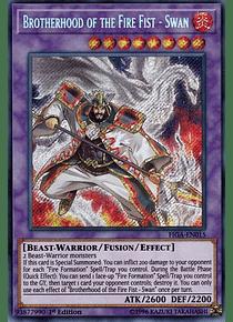 Brotherhood of the Fire Fist - Swan - FIGA-EN015 - Secret Rare