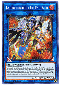 Brotherhood of the Fire Fist - Eagle - FIGA-EN016 - Secret Rare