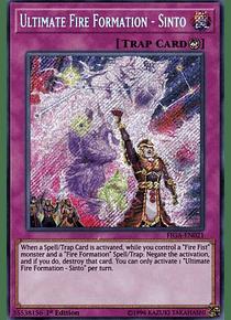 Ultimate Fire Formation - Sinto - FIGA-EN021 - Secret Rare