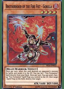 Brotherhood of the Fire Fist - Gorilla - FIGA-EN022 - Super Rare