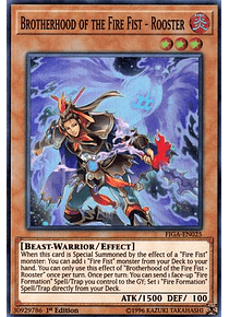 Brotherhood of the Fire Fist - Rooster - FIGA-EN025 - Super Rare