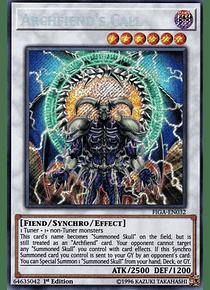 Archfiend's Call - FIGA-EN032 - Secret Rare