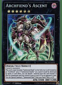 Archfiend's Ascent - FIGA-EN033 - Secret Rare