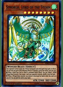 Simorgh, Lord of the Storm - RIRA-EN021 - Super Rare
