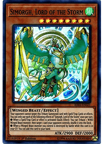 Simorgh, Lord of the Storm - RIRA-EN021 - Super Rare