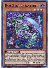 Dark Spirit of Banishment - LED5-EN002 - Super Rare