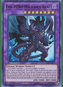 Evil HERO Malicious Bane - LED5-EN012 - Ultra Rare