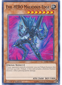 Evil HERO Malicious Edge - LED5-EN017 - Common