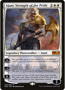 Ajani, Strength of the Pride - M20 - M