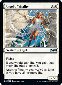 Angel of Vitality - M20 - U