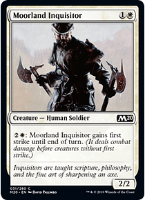 Moorland Inquisitor - M20 - C