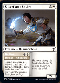 Silverflame Squire - ELD - C