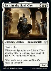 Syr Alin, the Lion's Claw - ELD - U