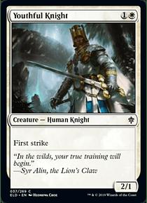Youthful Knight - ELD - C