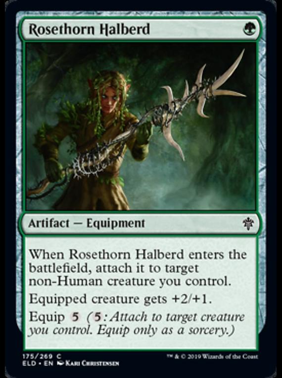 Rosethorn Halberd  - ELD - C
