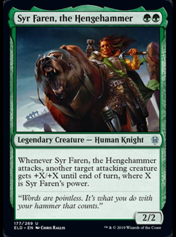 Syr Faren, the Hengehammer - ELD - U