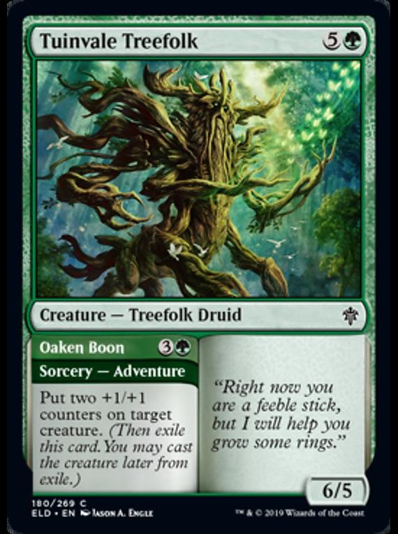 Tuinvale Treefolk - ELD - C