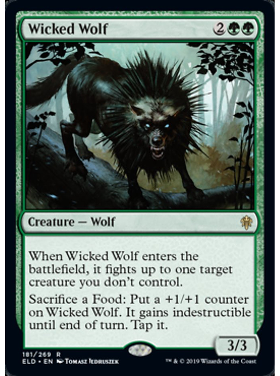 Wicked Wolf - ELD - R