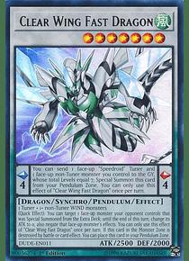 Clear Wing Fast Dragon - DUDE-EN011 - Ultra Rare