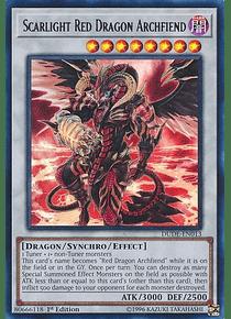Scarlight Red Dragon Archfiend - DUDE-EN013 - Ultra Rare