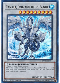 Trishula, Dragon of the Ice Barrier - DUDE-EN014 - Ultra Rare