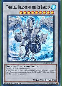 Trishula, Dragon of the Ice Barrier - DUDE-EN014 - Ultra Rare