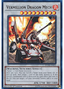 Vermillion Dragon Mech - DUDE-EN015 - Ultra Rare